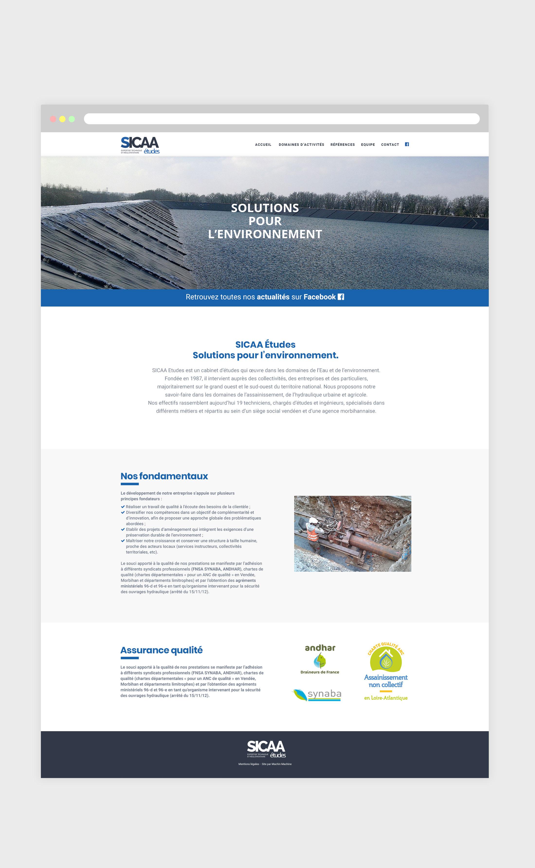 Agence web Vendée - creation site internet wordpress - freelance pour pme - entreprise